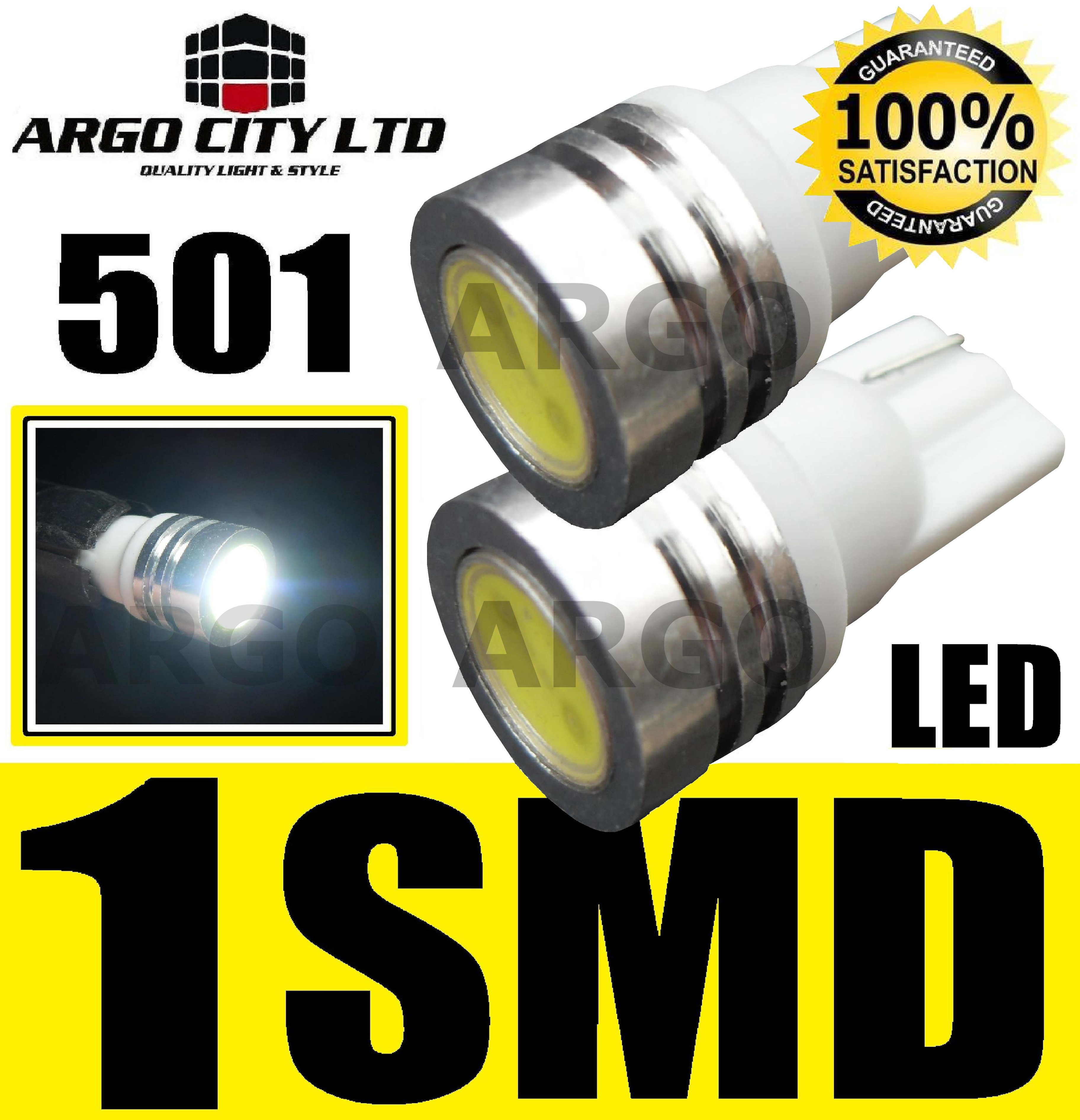HONDA ST 1300 A SC51 1w Xenon LED Sidelight Bulbs 1 SMD